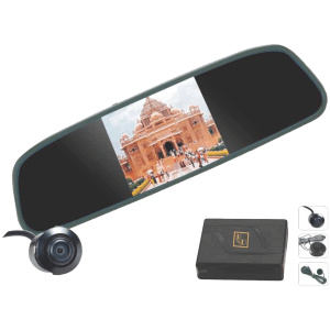 RD RVM81+TF-1000C Rear View Camera with Parking Sensors & Camera (Universal Fit)