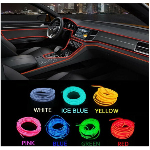 Dashboard Trim Lights (Mobile App operated)