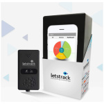 Letstrack Plus GPS vehicle tracking device with AC control for cars, busses and trucks