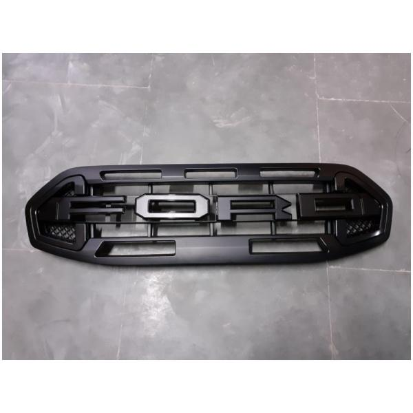 Ford Endeavour 2020 Raptor Style non-LED ABS Bumper Grill (Black color)