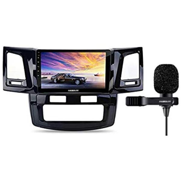 Hamaan Android Player for Toyota Fortuner 2008-14 with 2GB RAM, 16GB/32GB Internal Memory, Screen Mirroring