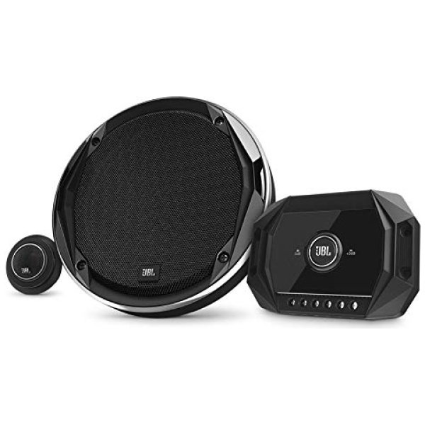 JBL STADIUMGTO600C – 6-1/2″ (160mm) Two-Way Component System w/Gap switchable Crossover, Peak Power 300W, 100W (RMS)