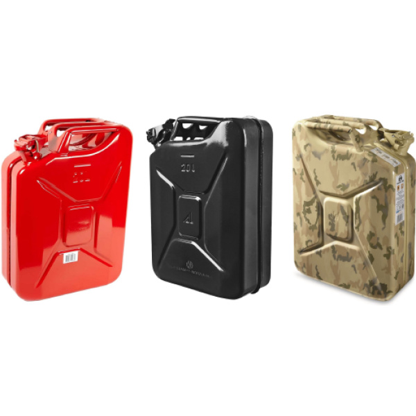 Mahindra Thar Metal Jerry Can (20Ltr)