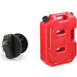 Mahindra Thar Plastic Jerry Can with lock (20Ltr)