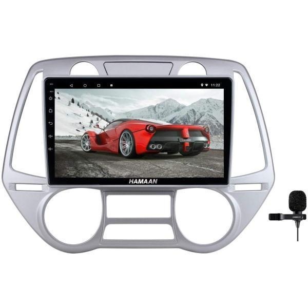 Hamaan Android Player for Hyundai i20 2008-12 with 2GB RAM, 16GB/32GB Internal Memory, Screen Mirroring
