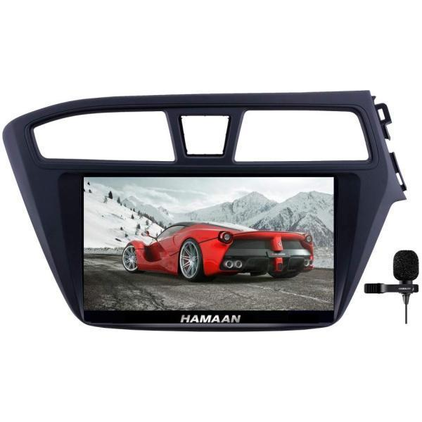 Hamaan Android Player for Hyundai i20 2014-17 with 2GB RAM, 16GB/32GB Internal Memory, Screen Mirroring