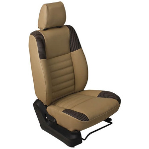 Custom Fit Pulp-Fiction Artificial Leather Car Seat Cover