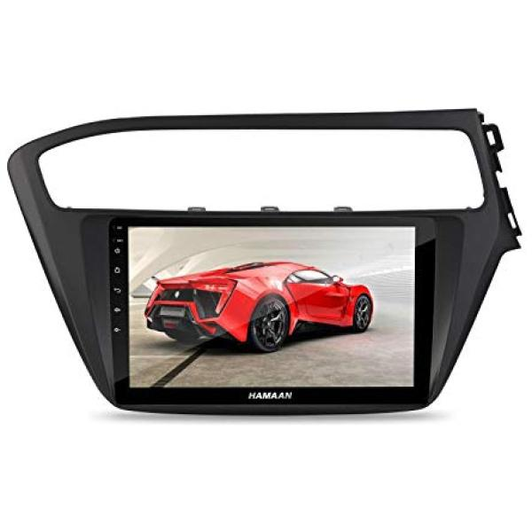 Hamaan Android Player for Hyundai i20 (2018-20) with 2GB RAM, 16GB/32GB Internal Memory, Screen Mirroring
