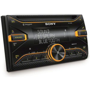 Sony WX-920BT 7″ with CD Receiver, Bluetooth, Extra bass