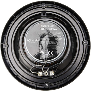 INFINITY REF-6522EX 6.5 INCH HIGH PERFORMANCE EZFIT CO-AXIAL SPEAKERS, 180W, 60W RMS