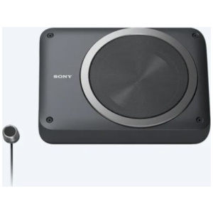 Sony XS-AW8 Active Compact Underseat Subwoofer with inbuilt Amplifier Peak 160W & RMS 75W