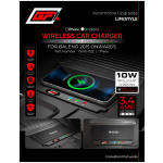 Wireless Car Charger For Baleno 2015 Onwards