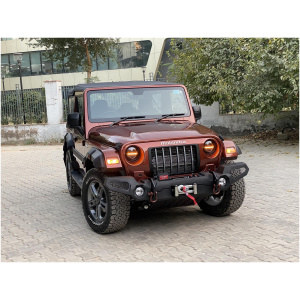 Front Bumper Guard With Winch Plate For Mahindra Thar Type 1