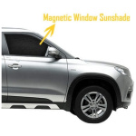 Mirror Cut Magnetic Sun Shades for 7 seater|Custom Fit (6pc)