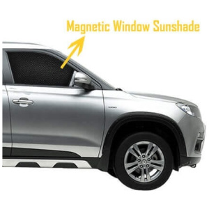Mirror Cut Magnetic Sun Shades for 5 seater| Custom Fit (4pc)