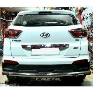 M-TRACK Stainless Steel Rear Bumper Guard for Hyundai Creta (old)