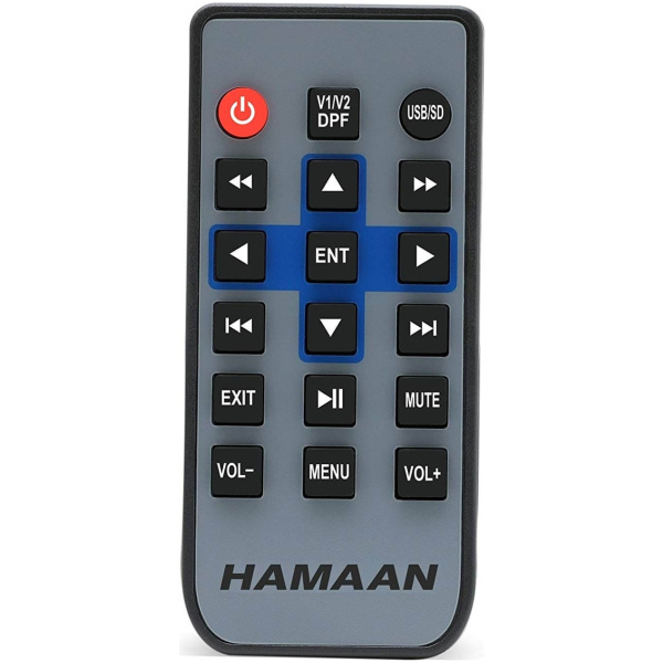 Hamaan HMPS 7771M Rear View Monitor with Bluetooth, USB