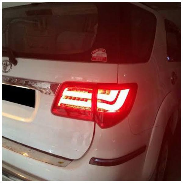 Auto Connections Fortuner 2012 Lexus style LED Tail Lamps