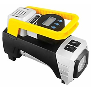 Hamaan HMTI 1000 portable Car Tyre Inflator with digital display and LED lights