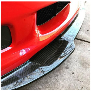 Universal ABS car front and side Lip Skirtings (Black color)