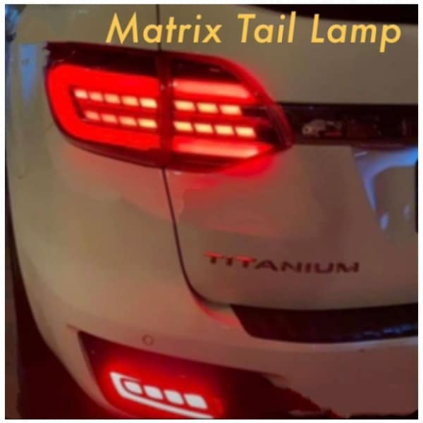 Ford Endeavour 2020 Matrix Tail Lamp with LED