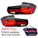 BMW F30 Red and Smoke Tail Lamp